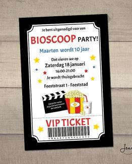 uitnodiging bioscoop